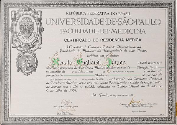 Certificado residência