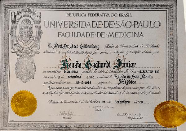 Diploma FMUSP
